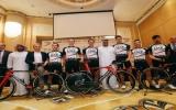 Il Team UAE nel raduno di Terracina.